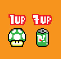 1UP+ by mattcantdraw