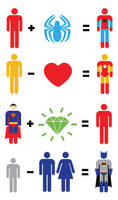 Superhero Mathematics