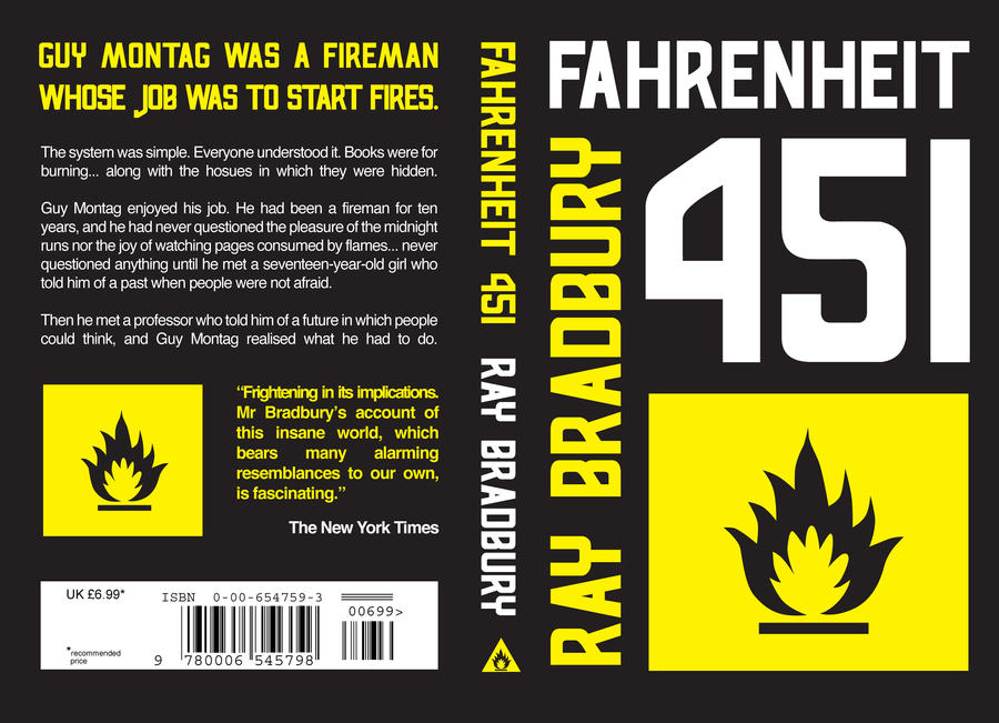 fahrenheit 451 a frightening future Fahrenheit 451 is a short science fiction novel  it tells of a future american society that is now a dystopia  it is chilling, frightening.