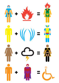 X-Men Mathematics