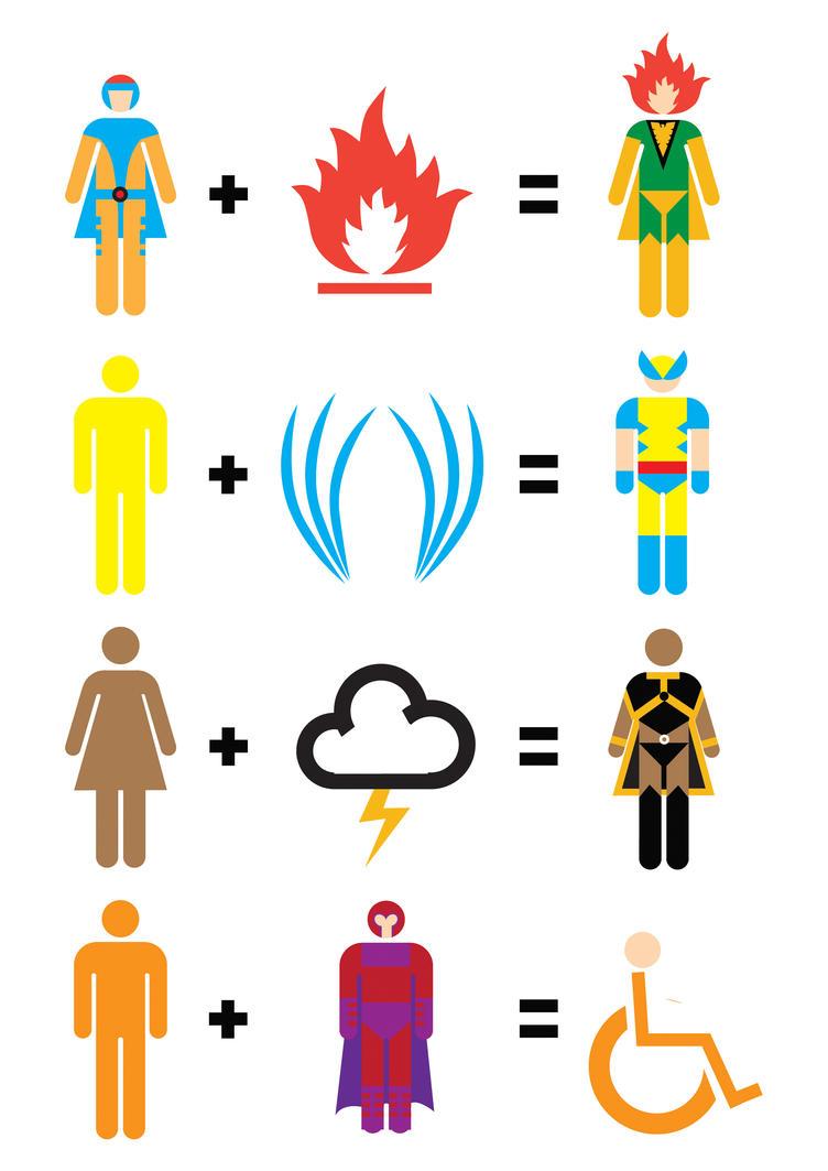 X-Men Mathematics by mattcantdraw