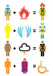 X-Men Mathematics