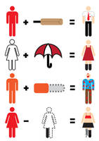 Zombie Maths by mattcantdraw