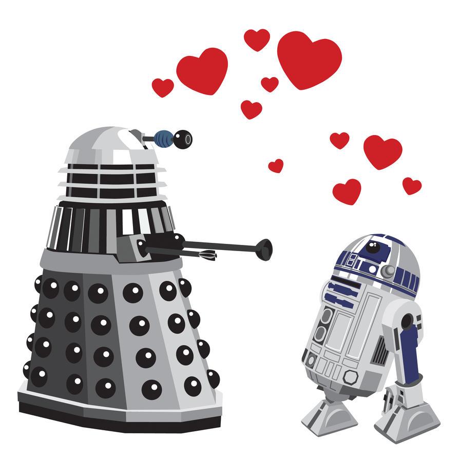 R2-Dalek by mattcantdraw