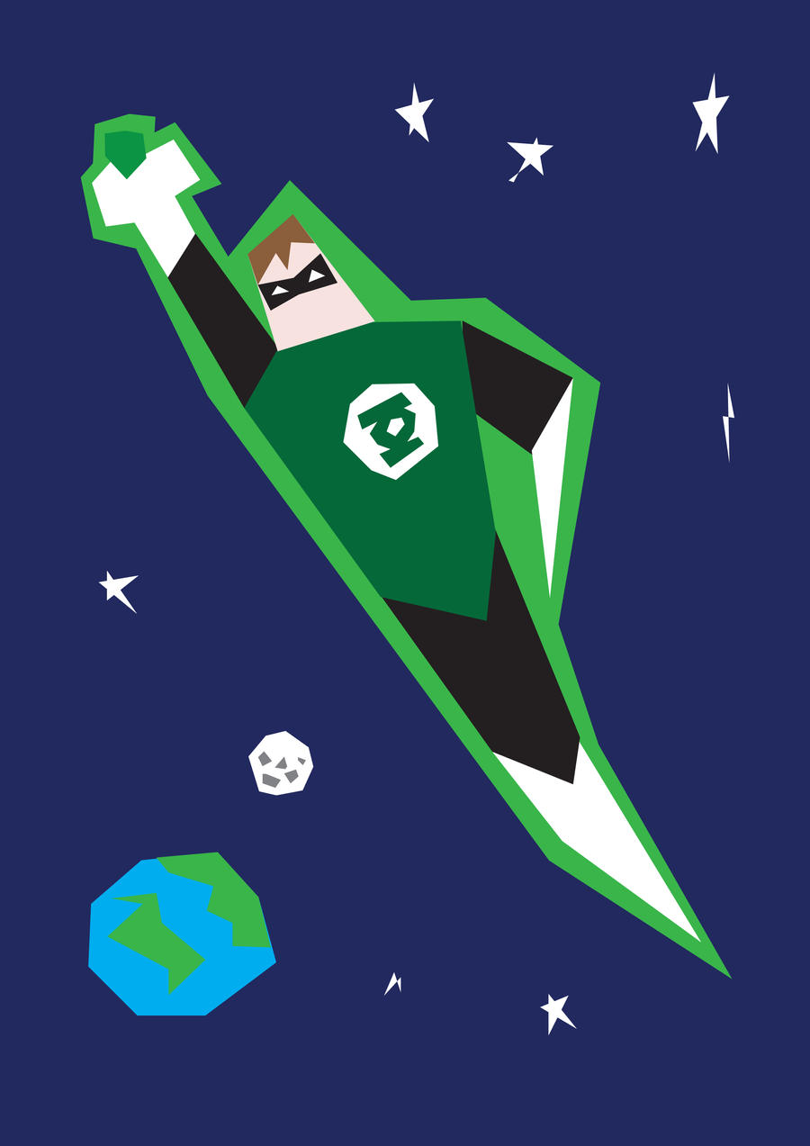 Green Lantern by mattcantdraw