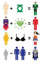 JLA Maths by mattcantdraw