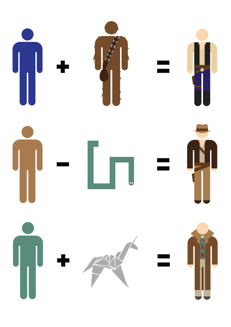 Harrison Ford Maths by mattcantdraw