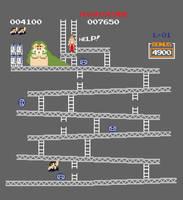 Star Wars Donkey Kong by mattcantdraw