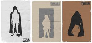 Star Wars Dark Side Posters