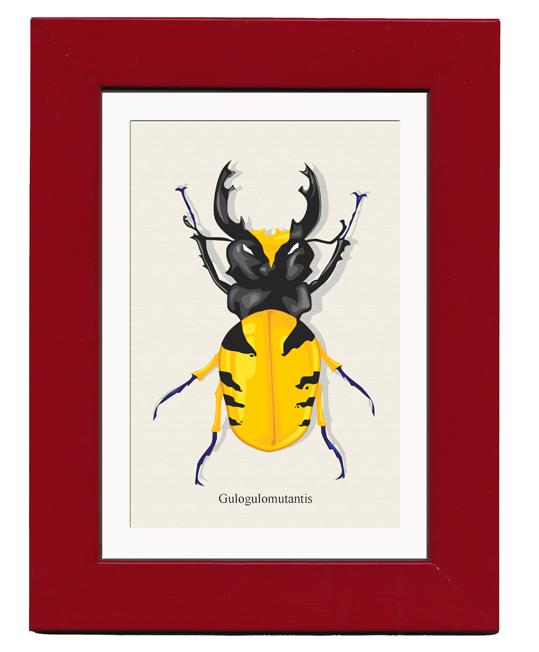 Gulogulomutantis AKA Wolvie Bug by mattcantdraw
