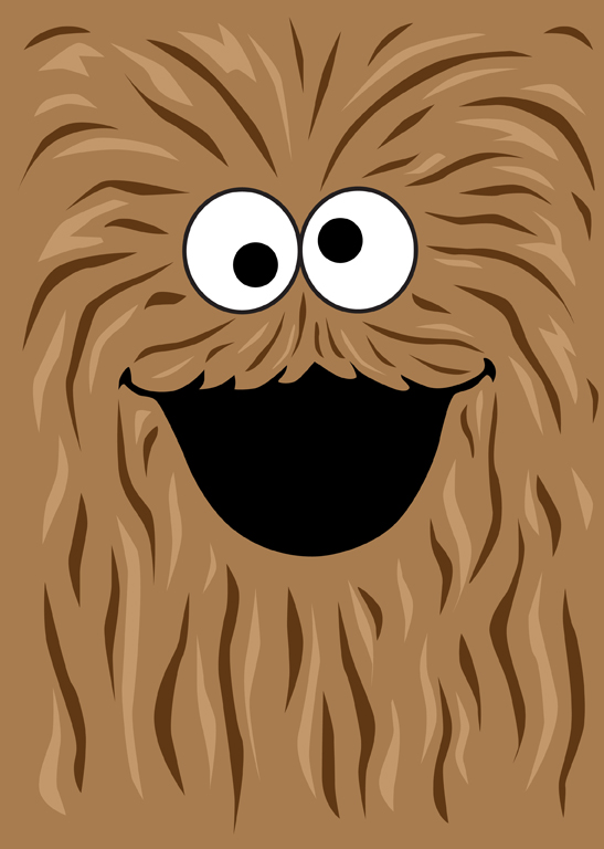 Wookie Monster by mattcantdraw