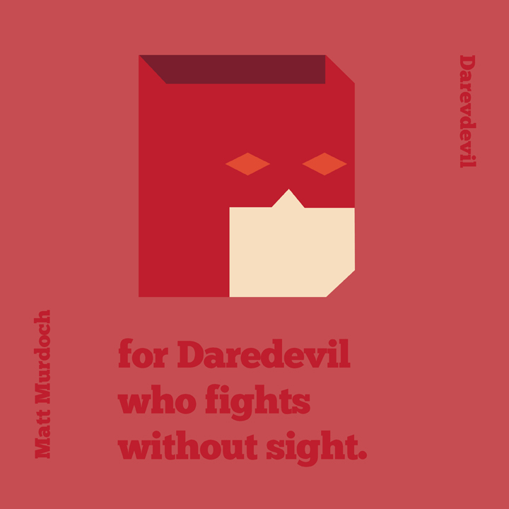 D is for Daredevil by mattcantdraw
