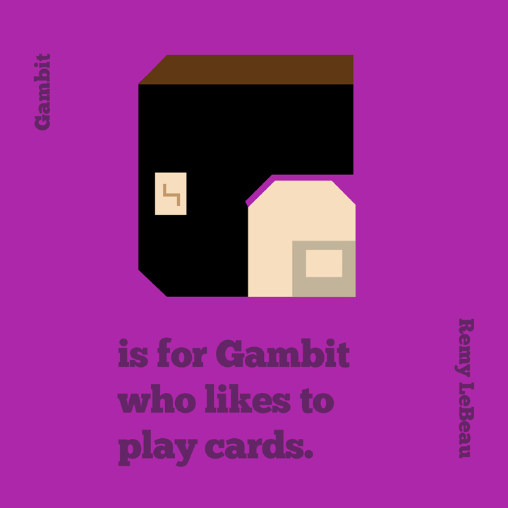 G is for Gambit by mattcantdraw