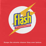 Flash All-Purpose Superhero by mattcantdraw