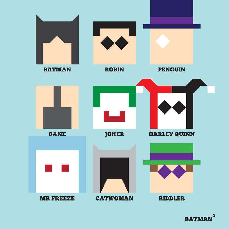 Batman Squared by mattcantdraw