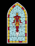 Stained Glass Iron Man Test