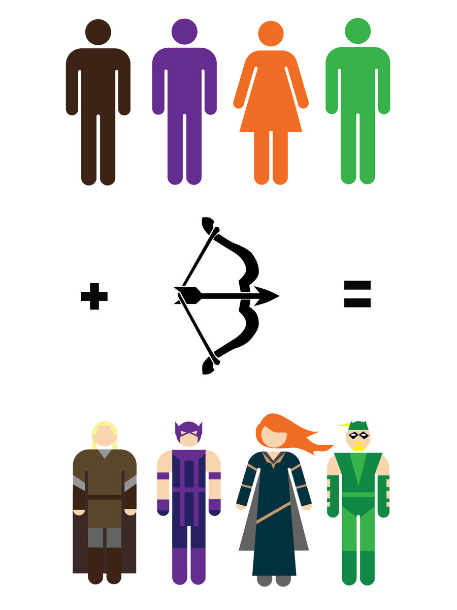 Arrows Maths by mattcantdraw