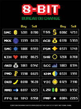 8-BIT Bureau du Change