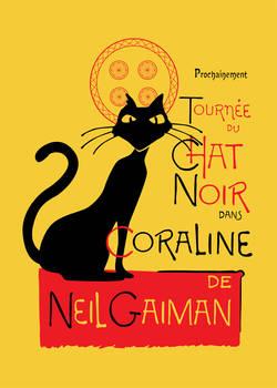 Chat Noir du Coraline