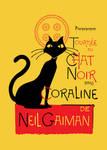 Chat Noir du Coraline by mattcantdraw