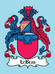 Super Clan Coat of Arms: LeBeau
