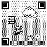 8-BIT QR Code: Mario by mattcantdraw