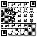 8-BIT QR Code: Megaman by mattcantdraw