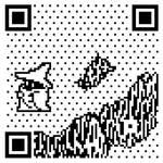 8-BIT QR Code: Mage by mattcantdraw