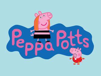 Peppa Potts by mattcantdraw