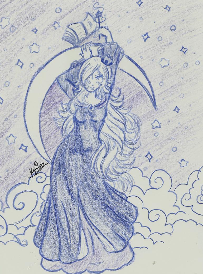 Blue Rosalina -III- by PrettyLadyCosmos