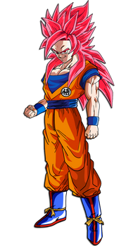 Goku (Real Super Saiyan God)