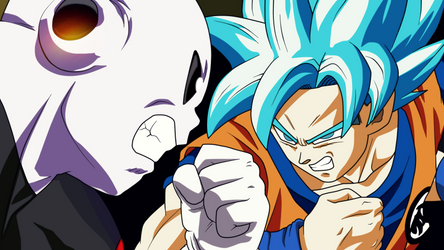 Dragon Ball Super - Goku vs Jiren