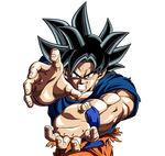 Goku Kamehameha (Ultra Instinct Omen)