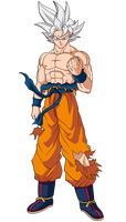Goku (Ultra Instinct) by hirus4drawing