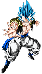 Gogeta (Super Saiyan Blue) by hirus4drawing