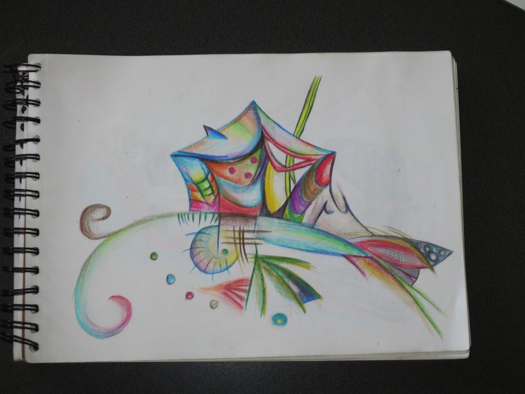Abstract Drawing by JoanaG0712 on DeviantArt