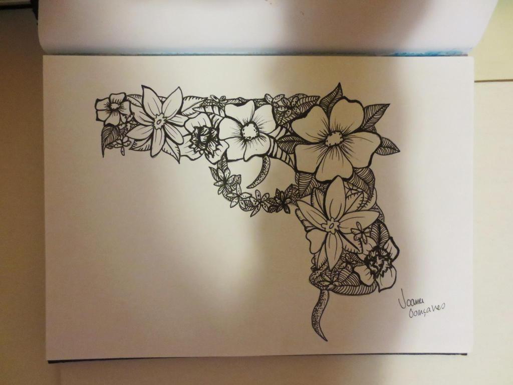 flower gun by joanag0712 on deviantart