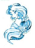 blue princess jasmine by doveangel123