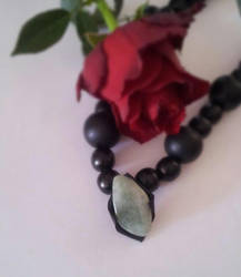 Aventurine Night Necklace - A new perspective