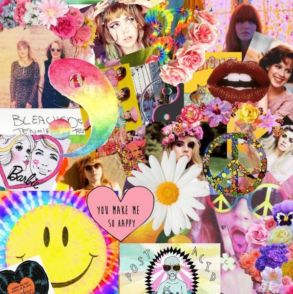Happy Positive Rad Hip Collage by LivelovelifeEleni