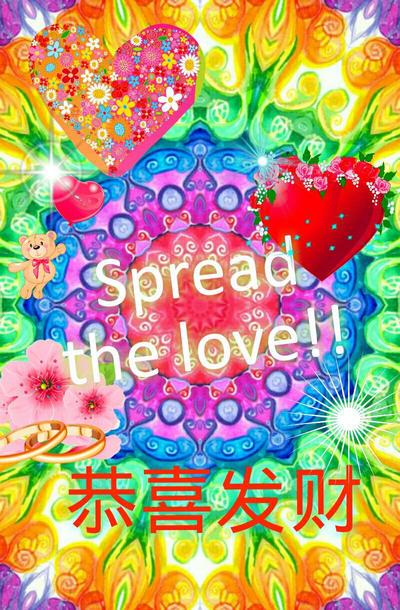 Happy Valentine's Spread the Love! by LivelovelifeEleni