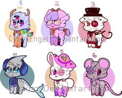 CLOSED | Animal adopts by Miskro