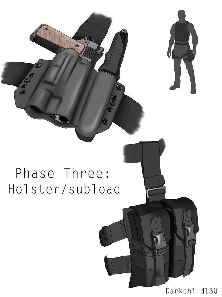 Gray 1 redesign: phase three by darkchild130