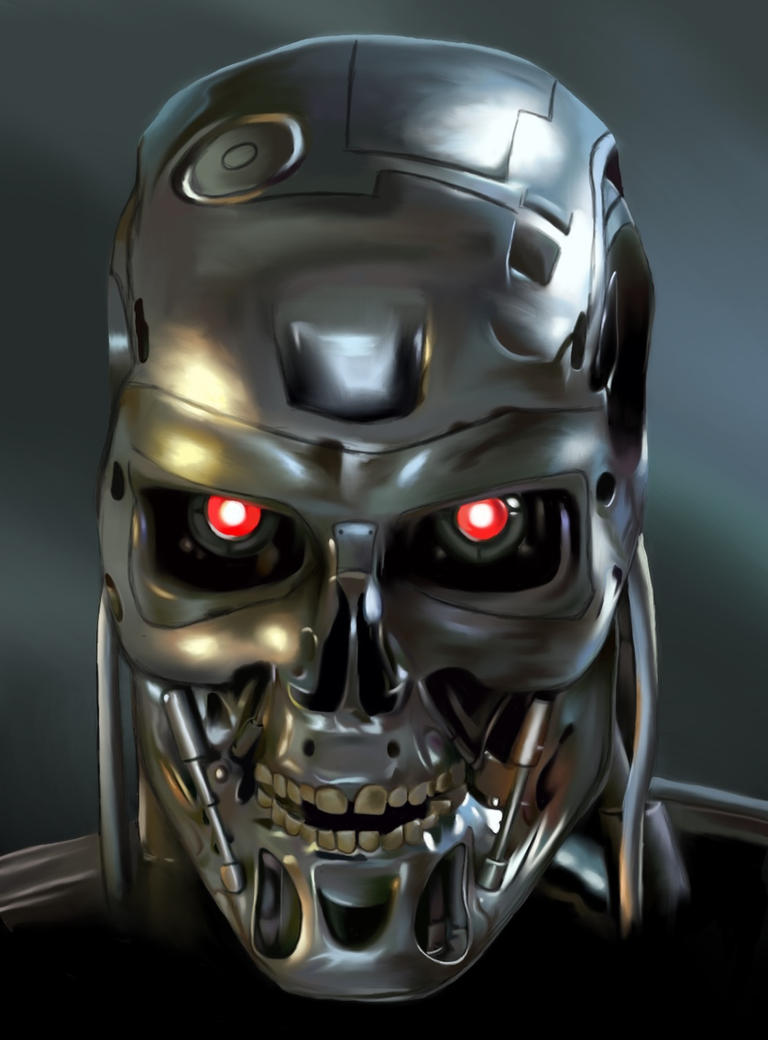 The Terminator Robot Face   www.imgkid.com - The Image Kid ...