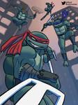 TMNT ninja turtles are rad by darkchild130
