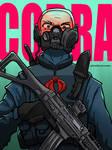 GI Joe Cobra Trooper by darkchild130