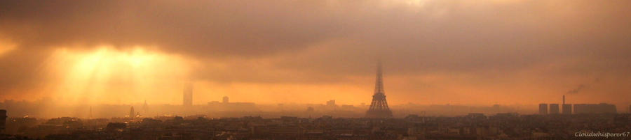 K-os Paris 270 - Paris Under the Gloomy Fury Fog
