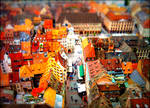 Tilt-shift From Strasbourg Cathedral's Roof by Cloudwhisperer67