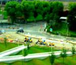 Tiny Construction Tractors - Tiltshift