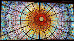 Under the Magnificent Skylight (Barcelona)